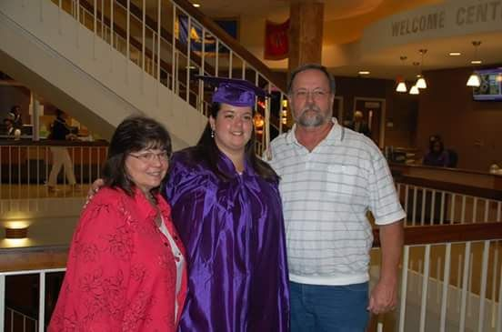 My graduation day from East Carolina University. One of my proudest moments as a music educator!