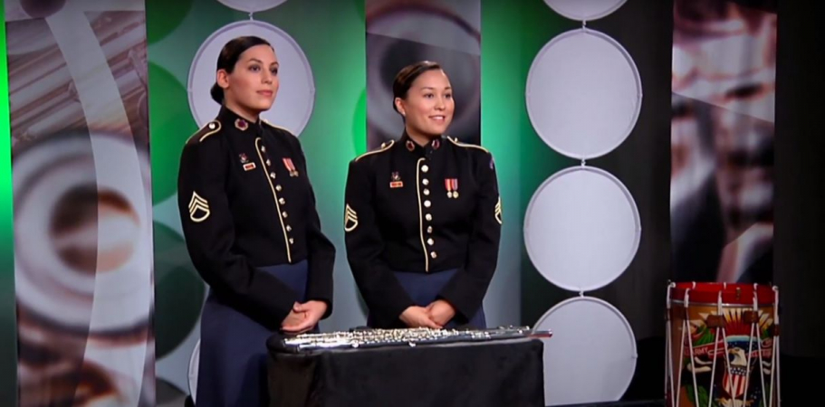 Filming Flute Fundamentals with The U.S. Army Field Band