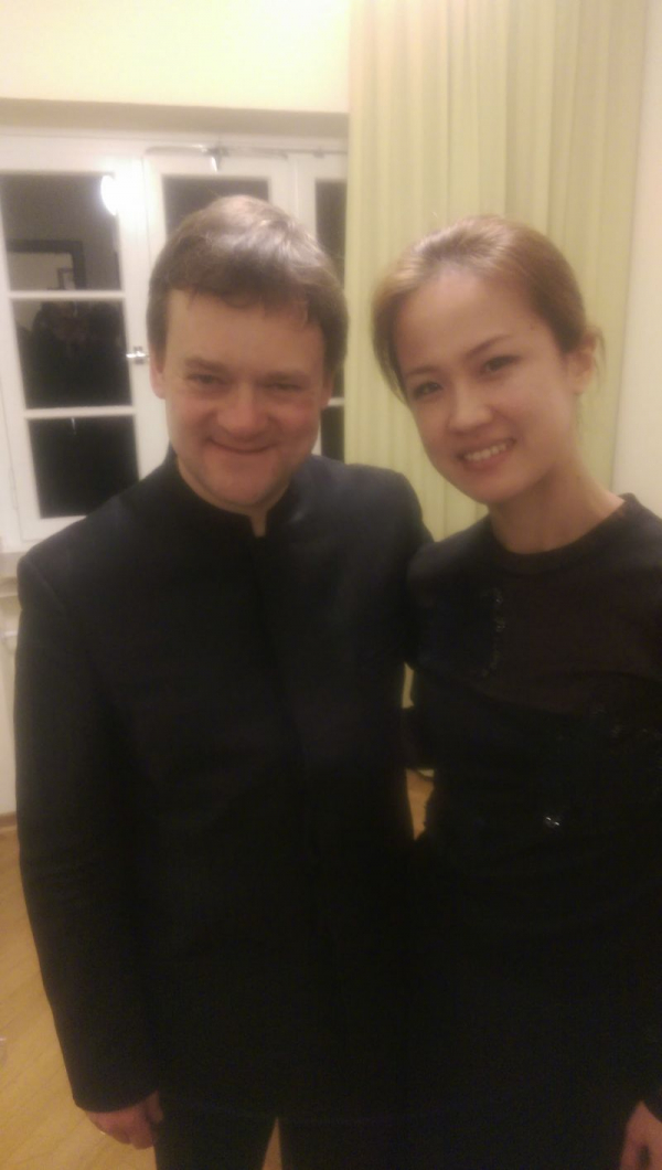 Frank Peter Zimmermann played Brahms Concerto with my orchestra in 2015