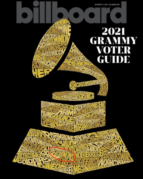 Ant Clemons Billboard Grammy Nominee Issue