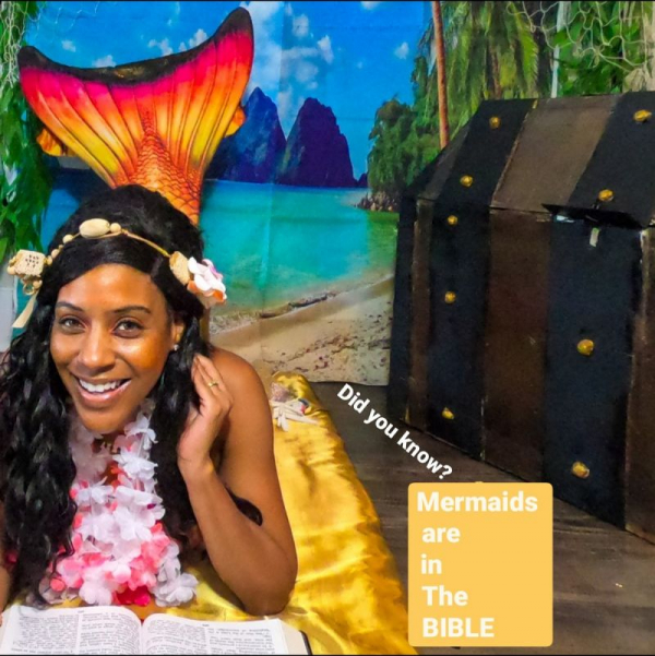 Are mermaids in the Bible? 