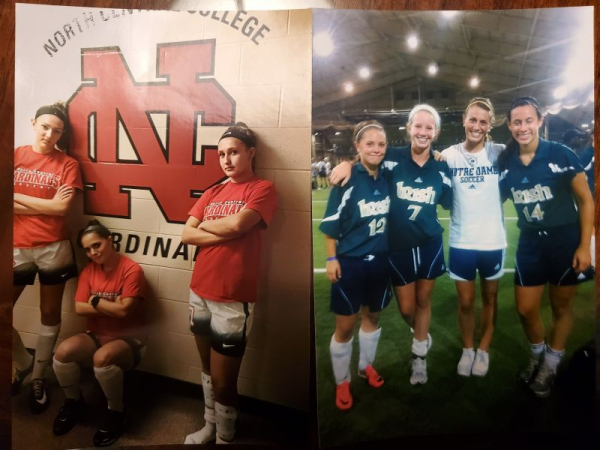 North Central College Soccer Teammates