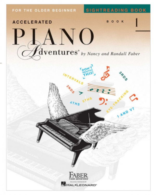 Accelerated Piano Adventures Sight-reading Book 1