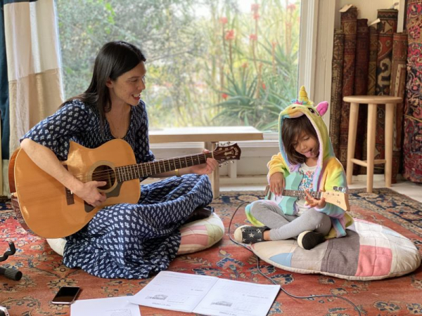 Kids' Guitar and Songwriting