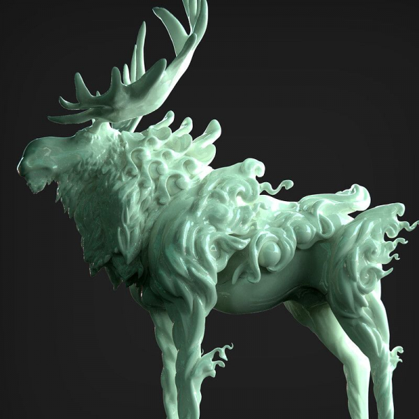 Moose hero prop render