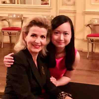Lipeng and Anne Sophie Mutter