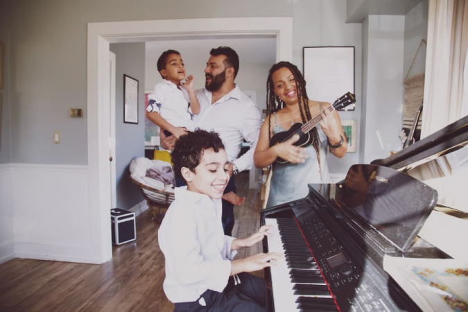 Here is My Creative Family Jammin'