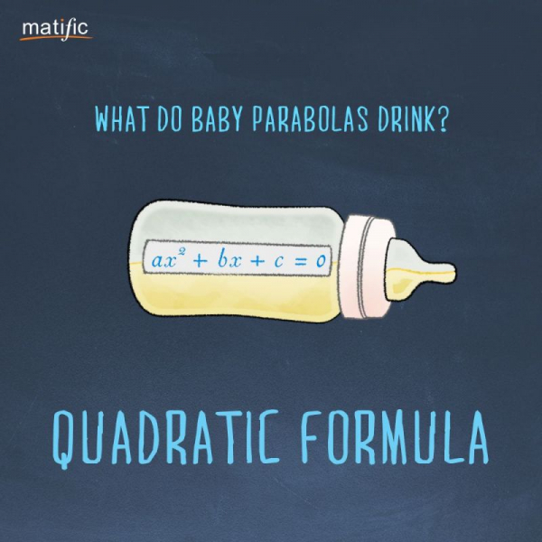 What do baby parabolas drink?