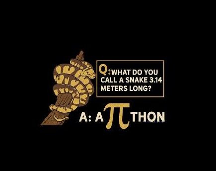 What do you call a snake that is 3.14 meters long?