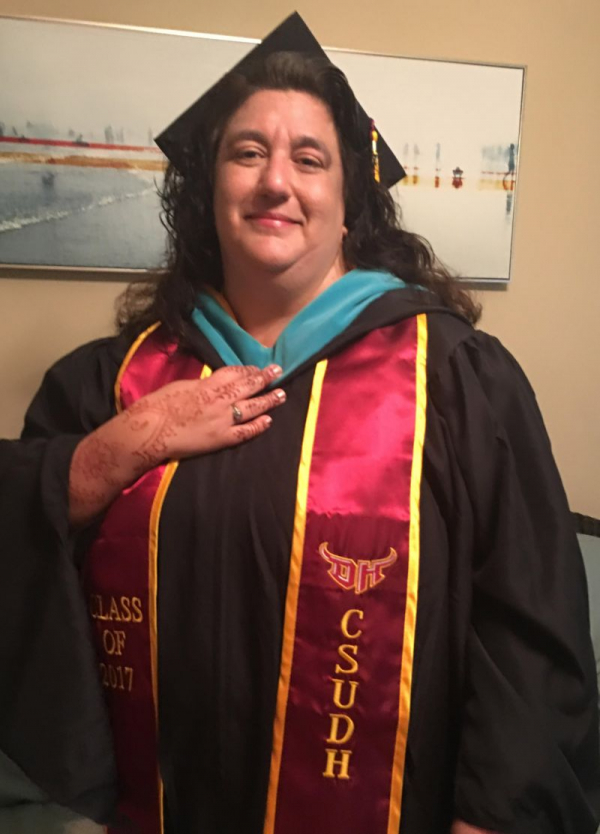 Me on graduation day for my Masters in Public Administration, Specialization in Nonprofit Management.