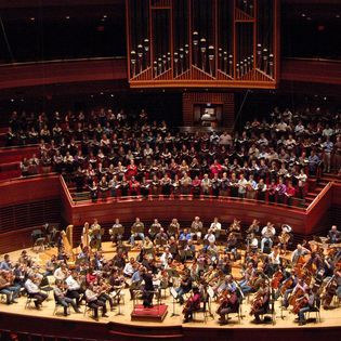 Rehearsing for Brahms' Requiem with Philadelphia Orchestra. 2011.