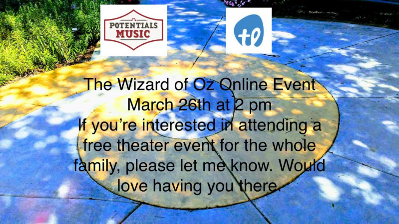 Our studio is preparing for an upcoming Online Event of the Wizard of Oz.