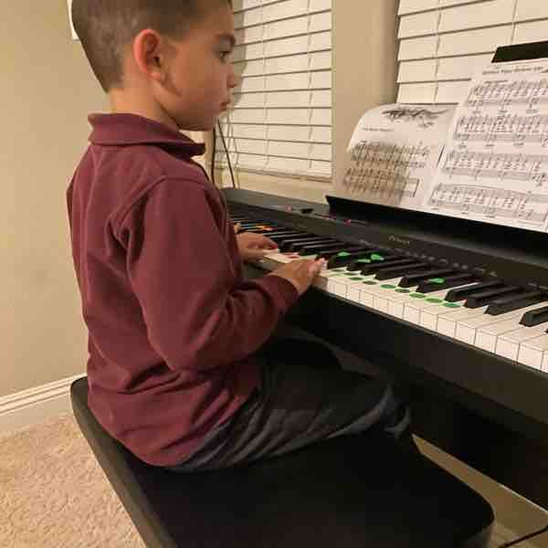 Ben has been working super hard to complete his song ! Kudos !! 🥳👏