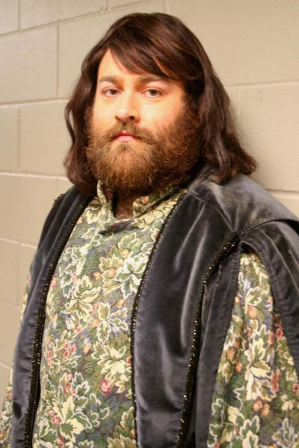 Rocking the Severus Snape look for Romeo et Juliette with Austin Opera