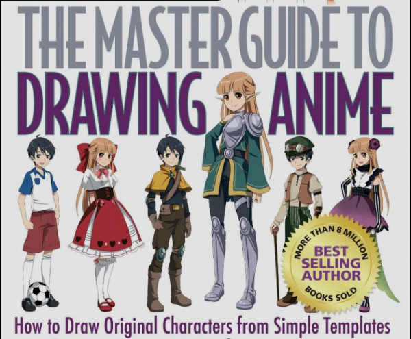 This is one of the books I use to teach how to draw anime.