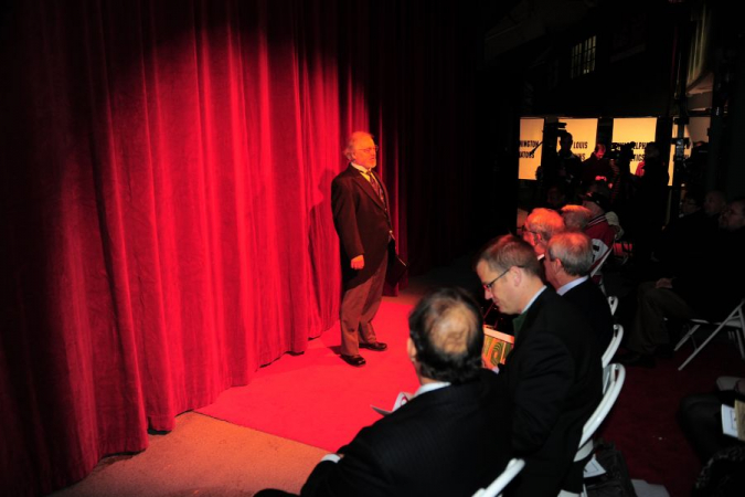 Dennis as Narrator for the Founders of Fenway 100th Anniversary Celebration