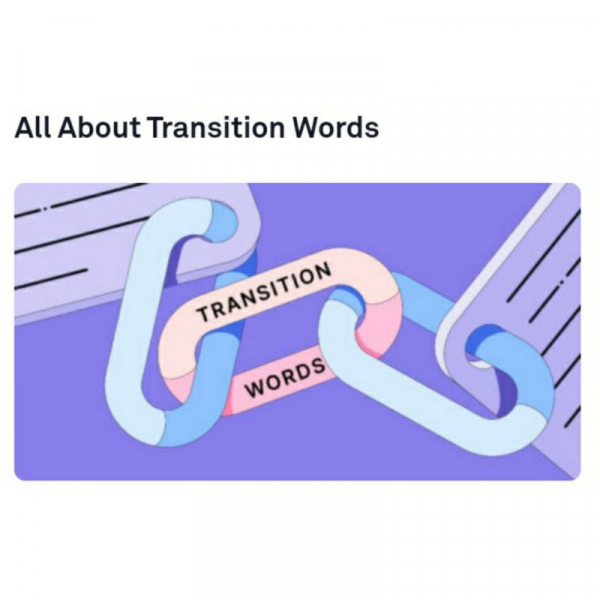 Follow the link to a great article: https://www.grammarly.com/blog/transition-words-phrases