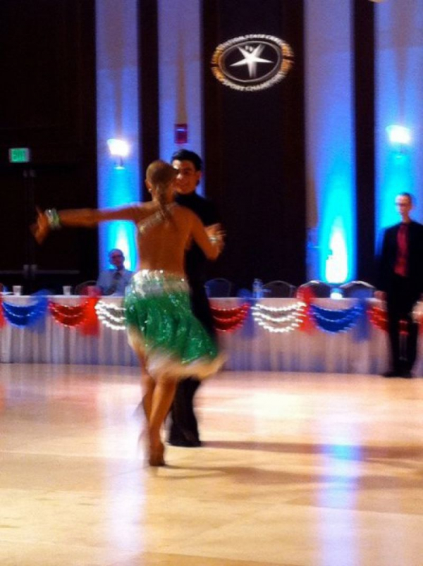 My First Competition doing Latin