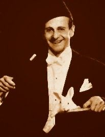 Mandrini's mentor Duke Labey who performed with Bing Crosby and Bob Hope on the vaudeville stages.