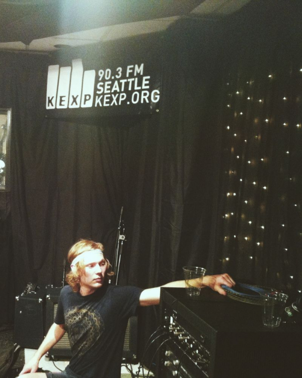 Fulfilled dream of an in-studio session at Seattle's legendary 90.3 KEXP