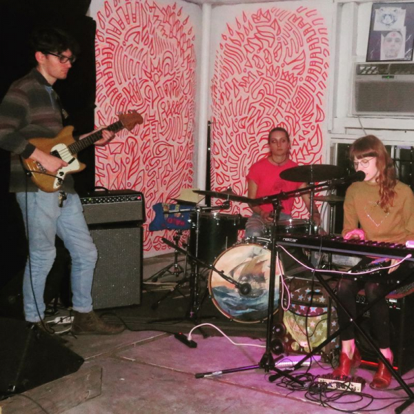 Playing with my band The Looniest Toon