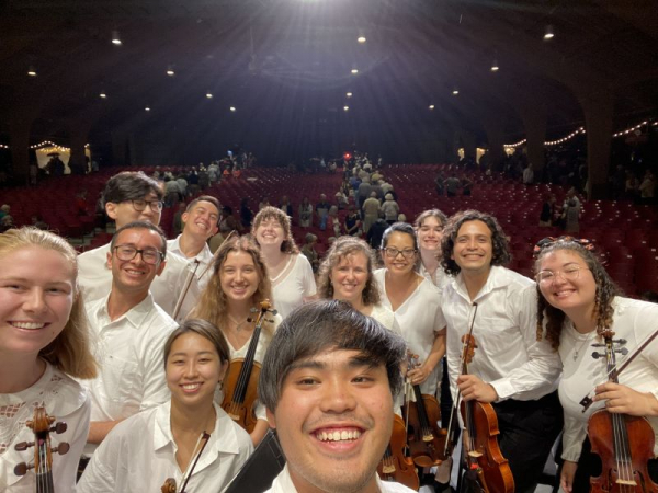 After Concert Picture at Brevard Music Festival