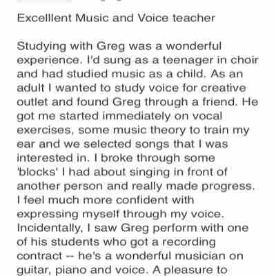 Voice and music review