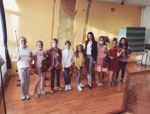 Concert with my students