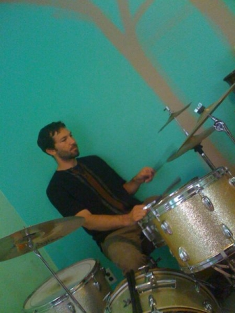 When I had a full drum set!