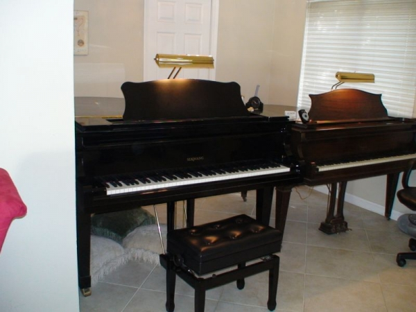 Two Grand Pianos