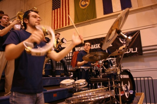 Western Washington University Basketball Pep Band. Bellingham, WA.