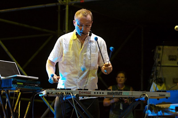 Marc Performing live at the Malta Jazz Festival