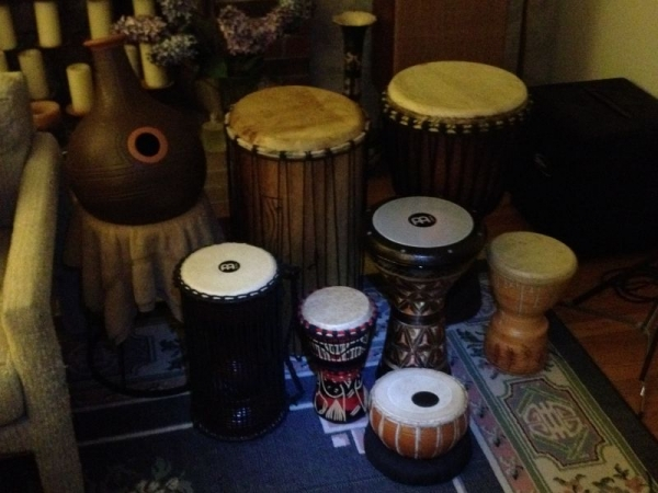 This is part of my world percussion collection.