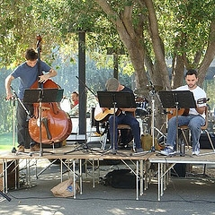 Diablo Valley College trio performance
