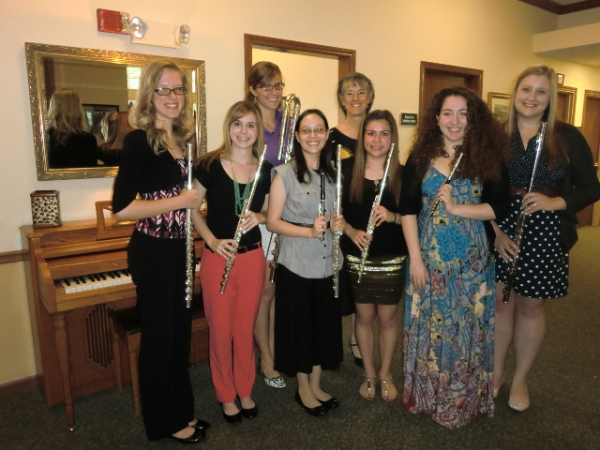 Southwestern University Flute Ensemble, April 2013