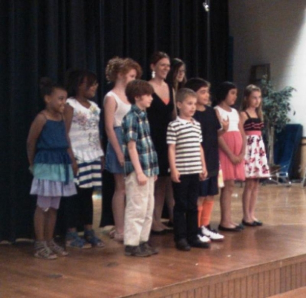 Piano and Voice recital, June 2012