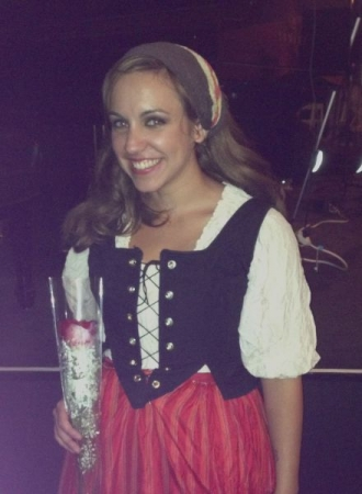 After performance in Carmen.