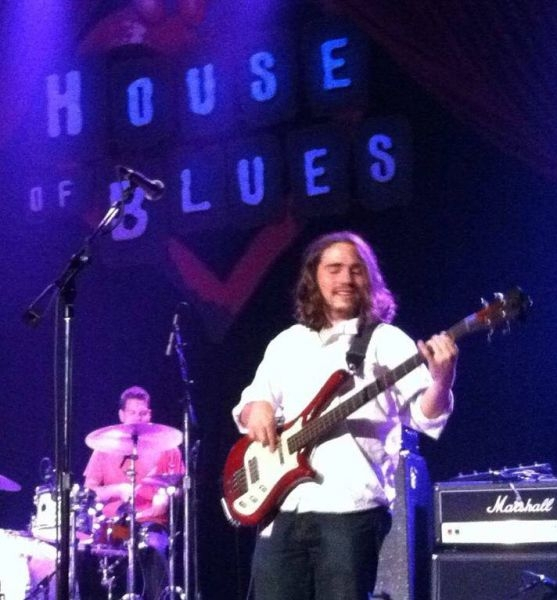 Performing at the House of Blues with the Phil Jacobson Band in August 2013
