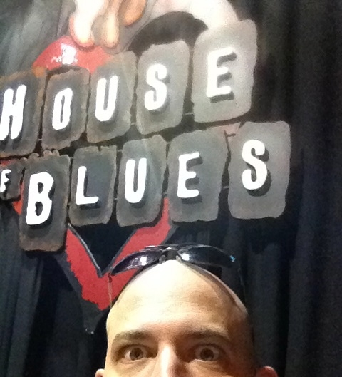 Before a show at The House of Blues in Orlando, FL w/ Sister Hazel.