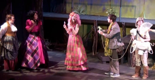 Playing Florinda in Into the Woods