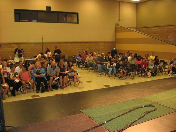 Audience - Getting ready to Start the Show