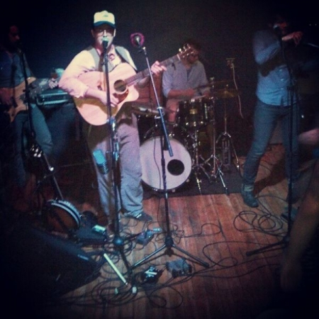 me performing with band.