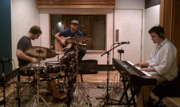 Studio B at Signature Sound Studios, writing for Songbirds & Lions