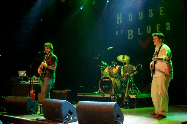 Performing at the House of Blues, San Diego