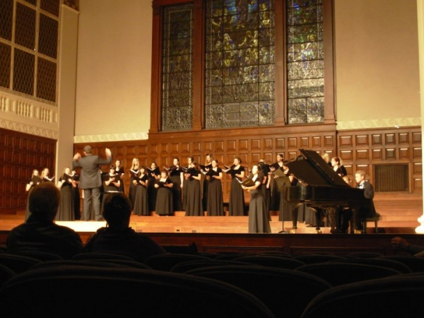 Soloist for Schubert's Ständchen with University of Redlands Choir Conducted by Dr. Jean Sebastian Vallee