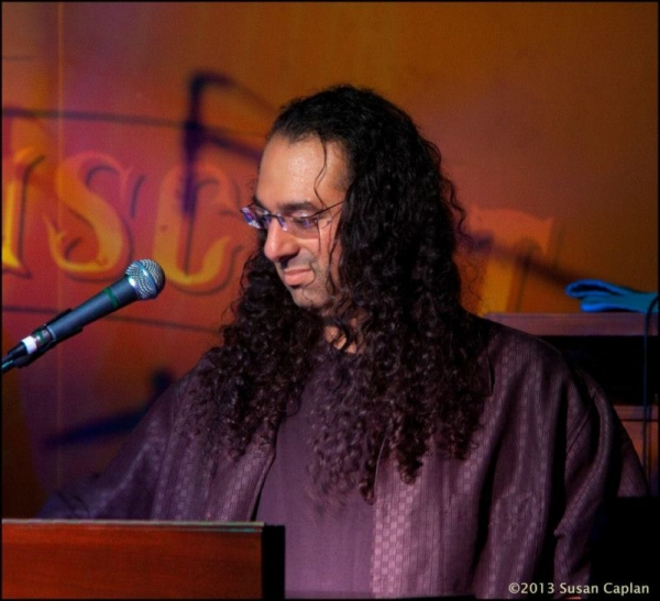 Lonny Performing at The Funky Biscuit in Boca Raton with The Michael Allman Band May 2014