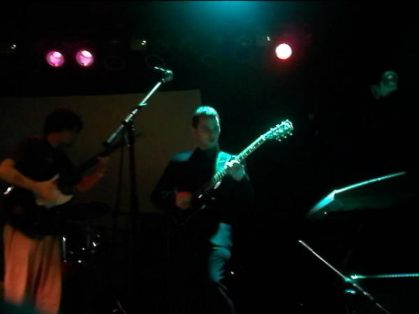 Playing at East Atlanta Ice House with We Are All Nothing And Something, c. 2010