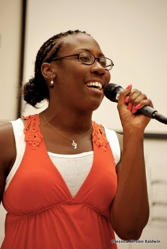 """Performing """"Black Coffee"""" at the CCM Vocal Pedagogy Institute at Shenandoah Conservatory in Winchester, VA."""