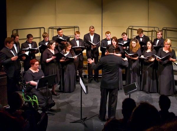 CCRI Chamber Singer Concert (Front Row, Third from Right)