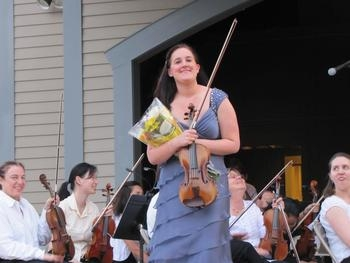 Performing with the Seven Hills Symphony 6/2012